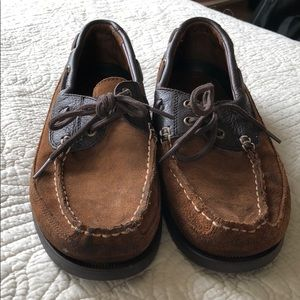 Polo by Ralph Lauren Shoes - Polo Ralph Lauren brown boat shoes. Size 9.